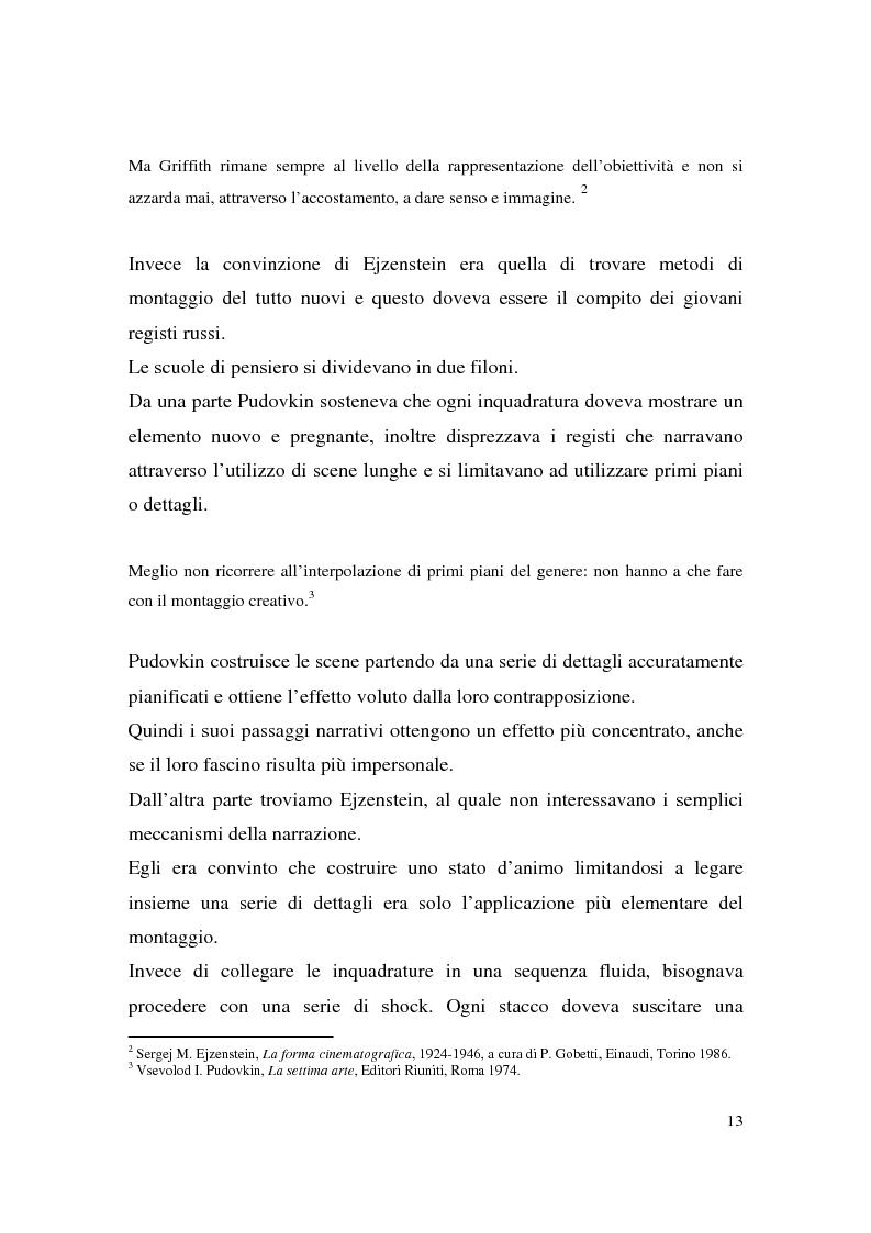 Anteprima della tesi: Montaggio e narrazione in Memento di Christopher Nolan e 21 Grammi di Alejando Gonzàlez Inarritu, Pagina 9