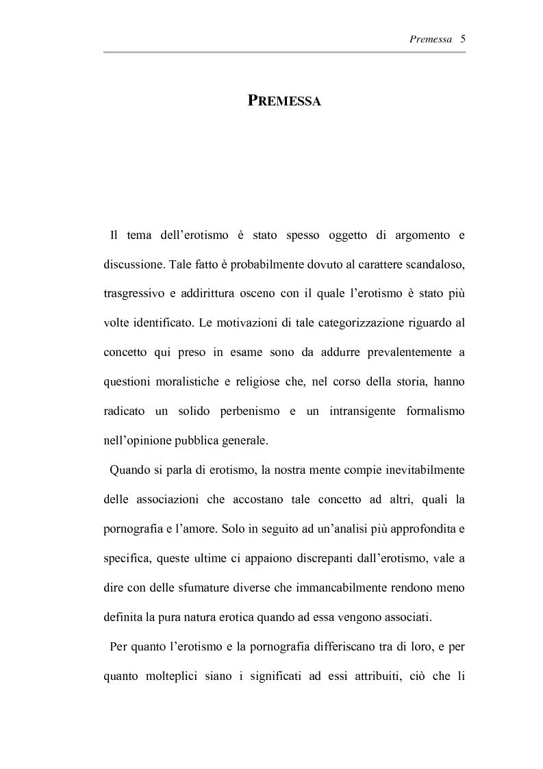 Anteprima della tesi: L'erotismo ne Las edades de Lulù di Almudena Grandes: storia di una regressione, Pagina 1