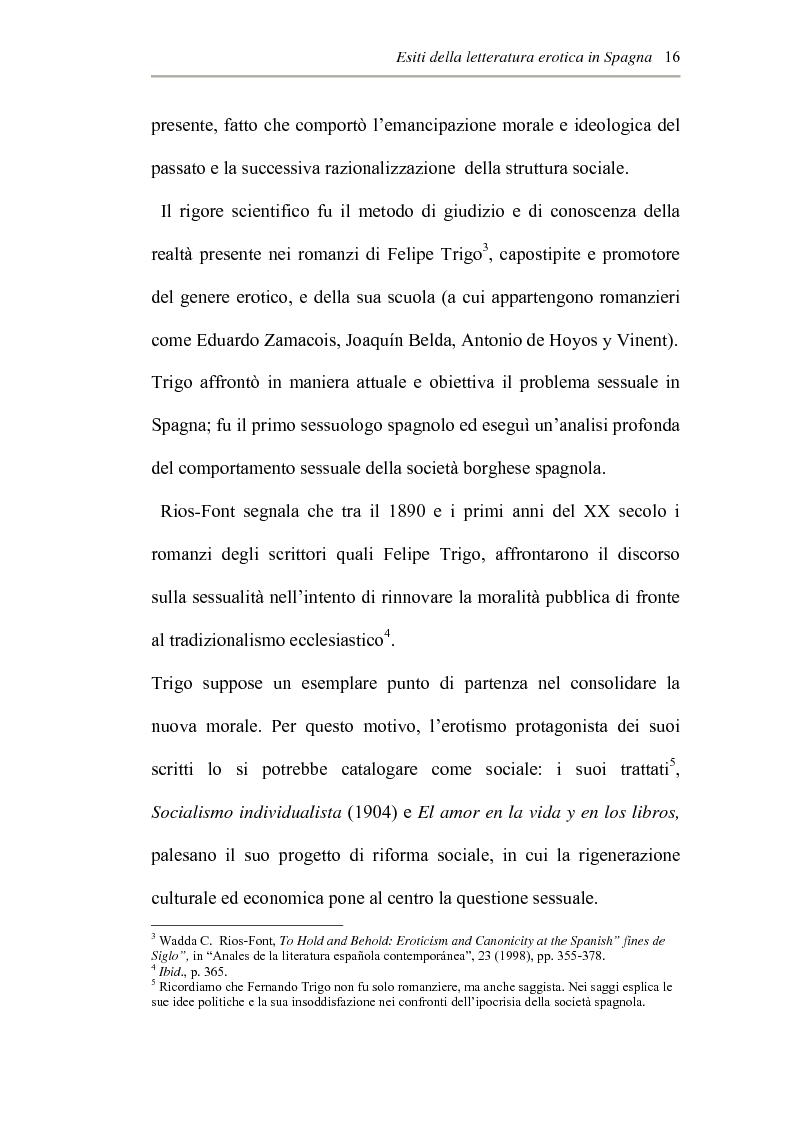 Anteprima della tesi: L'erotismo ne Las edades de Lulù di Almudena Grandes: storia di una regressione, Pagina 12
