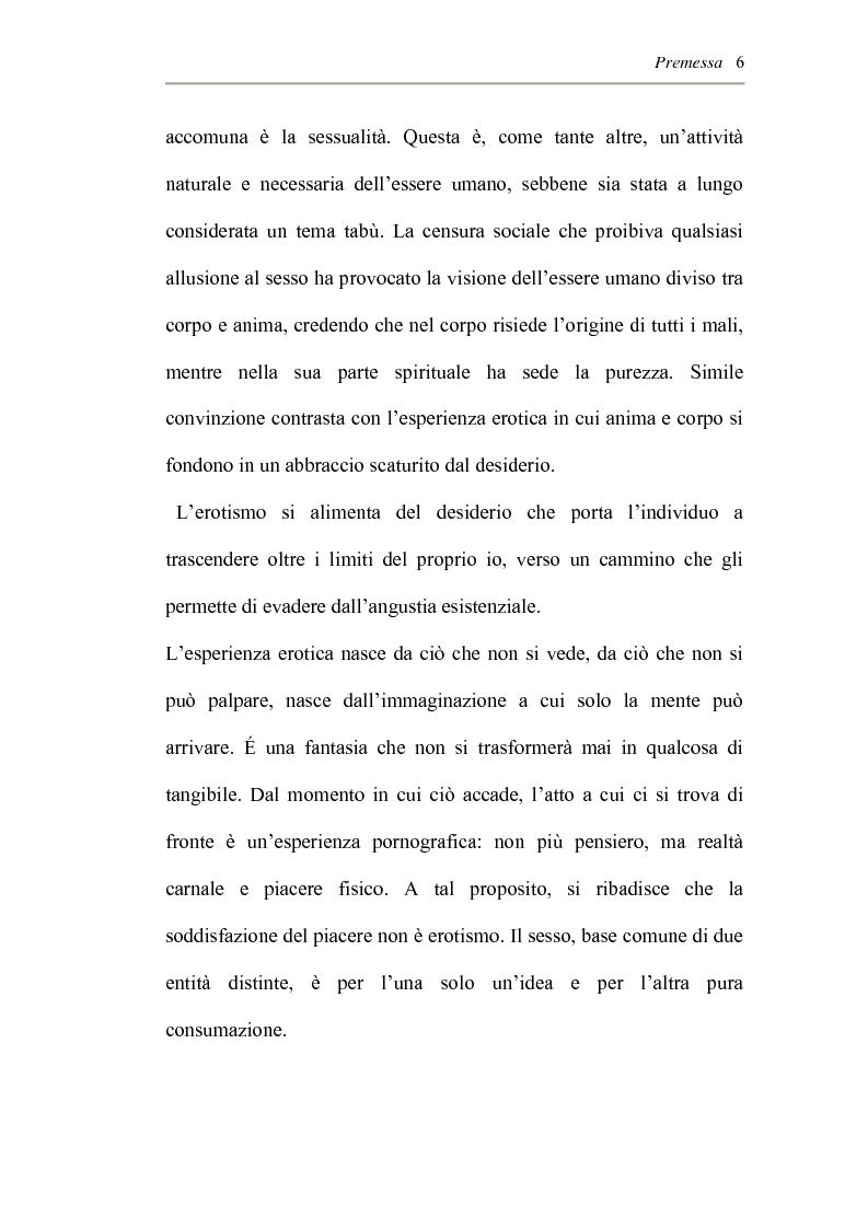 Anteprima della tesi: L'erotismo ne Las edades de Lulù di Almudena Grandes: storia di una regressione, Pagina 2