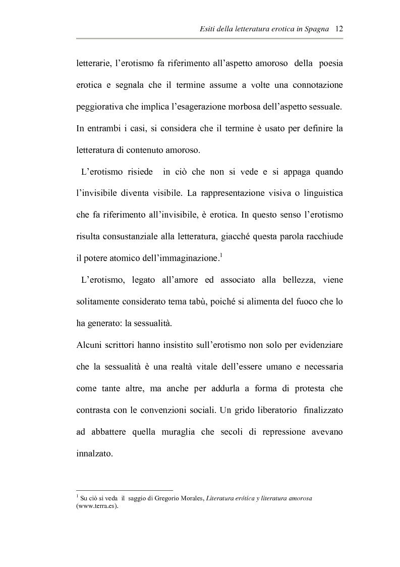 Anteprima della tesi: L'erotismo ne Las edades de Lulù di Almudena Grandes: storia di una regressione, Pagina 8