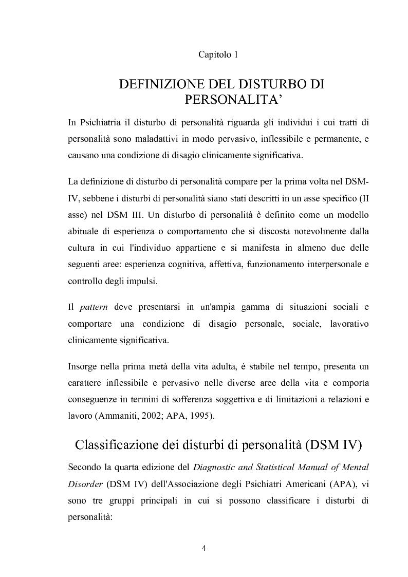Anteprima della tesi: Disturbo Antisociale di Personalità: tra detenzione e tentativi di cura, Pagina 1