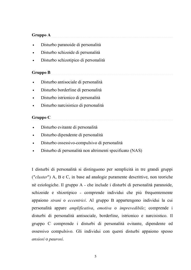 Anteprima della tesi: Disturbo Antisociale di Personalità: tra detenzione e tentativi di cura, Pagina 2