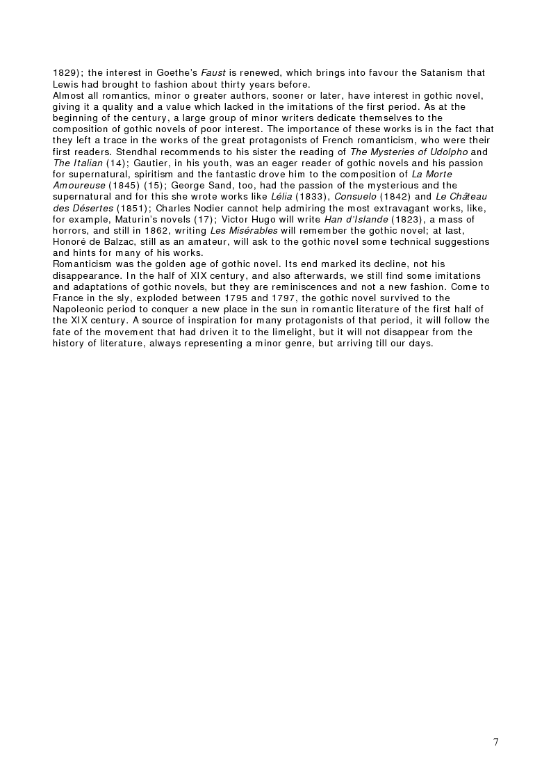 Anteprima della tesi: Charles Robert Maturin's Melmoth The Wanderer and Honoré De Balzac's Melmoth Réconcilié, Pagina 4