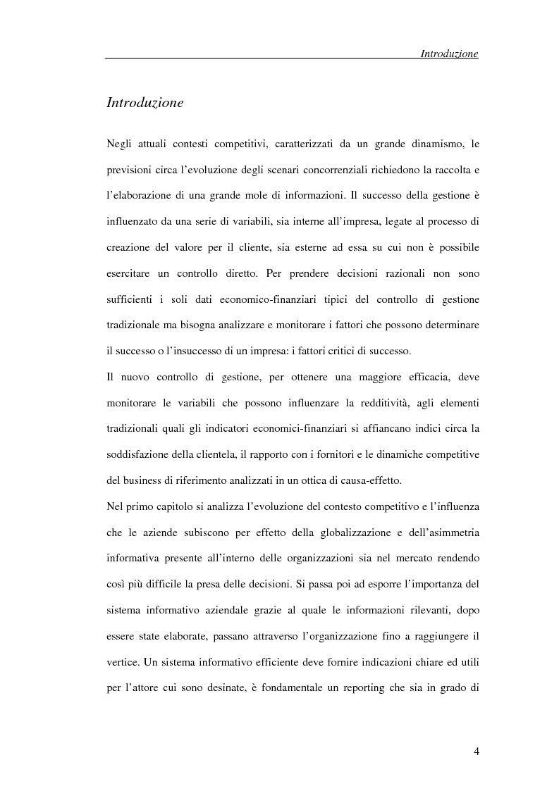 Anteprima della tesi: Il processo di cambiamento del sistema di controllo aziendale, Pagina 1