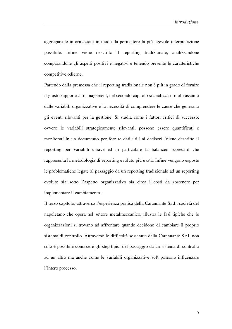 Anteprima della tesi: Il processo di cambiamento del sistema di controllo aziendale, Pagina 2