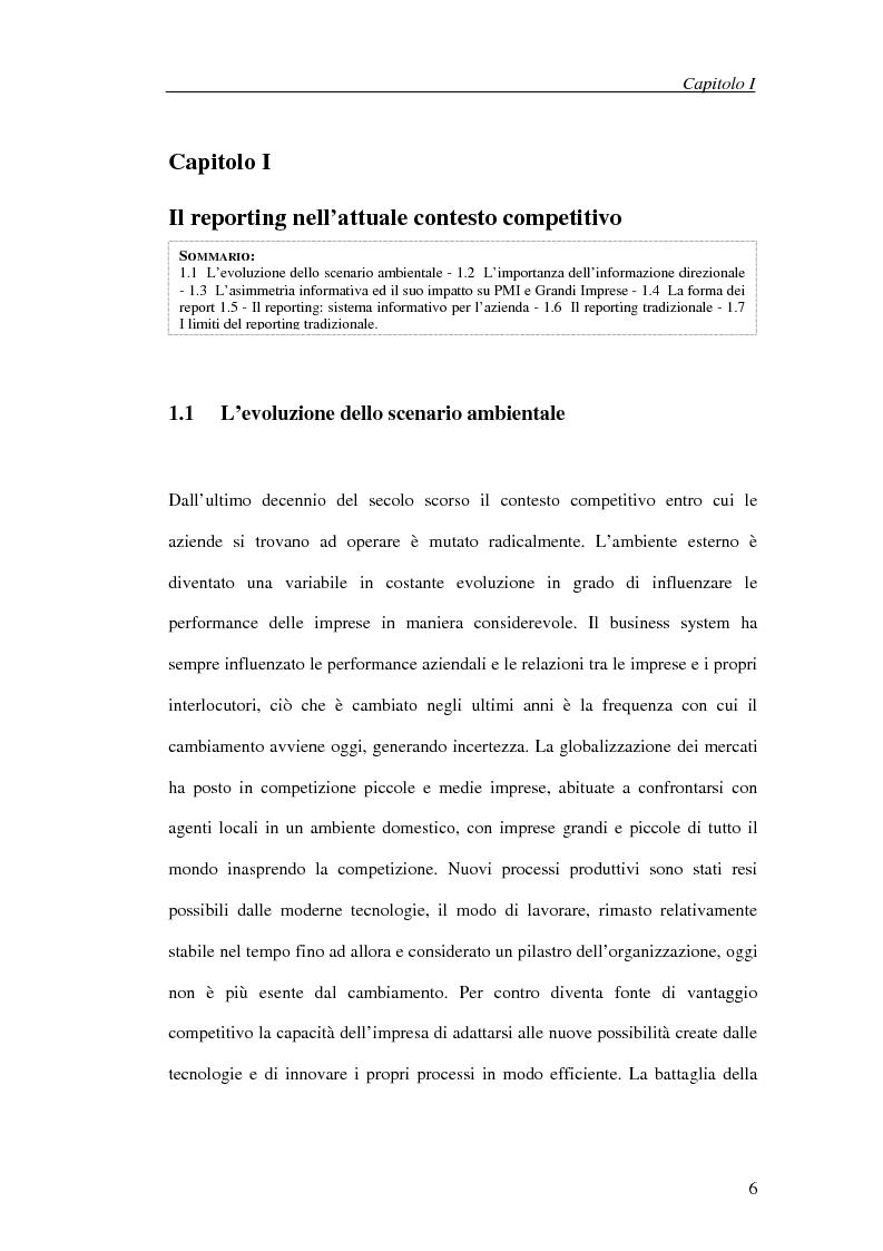 Anteprima della tesi: Il processo di cambiamento del sistema di controllo aziendale, Pagina 3