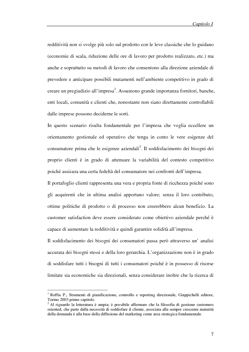 Anteprima della tesi: Il processo di cambiamento del sistema di controllo aziendale, Pagina 4