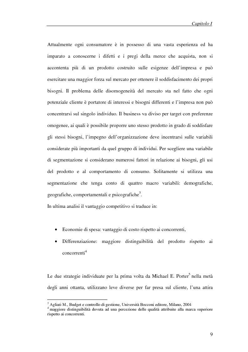 Anteprima della tesi: Il processo di cambiamento del sistema di controllo aziendale, Pagina 6
