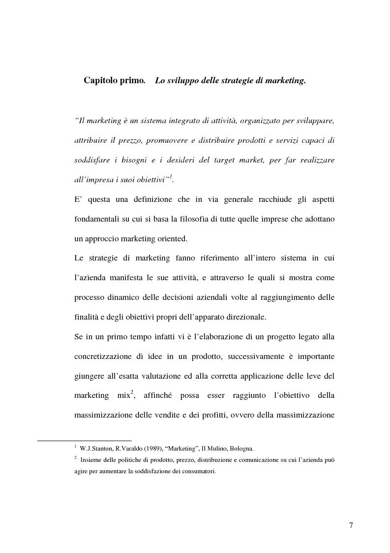 Anteprima della tesi: L'evoluzione del mercato dei prodotti alimentari: strategie di marketing delle imprese, Pagina 4