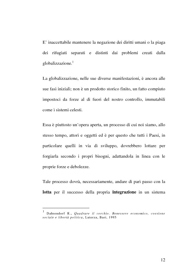 Anteprima della tesi: Diritti umani e multiculturalità nel villaggio globale, Pagina 6