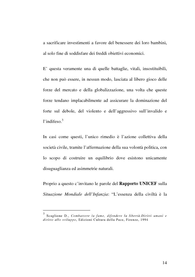 Anteprima della tesi: Diritti umani e multiculturalità nel villaggio globale, Pagina 8