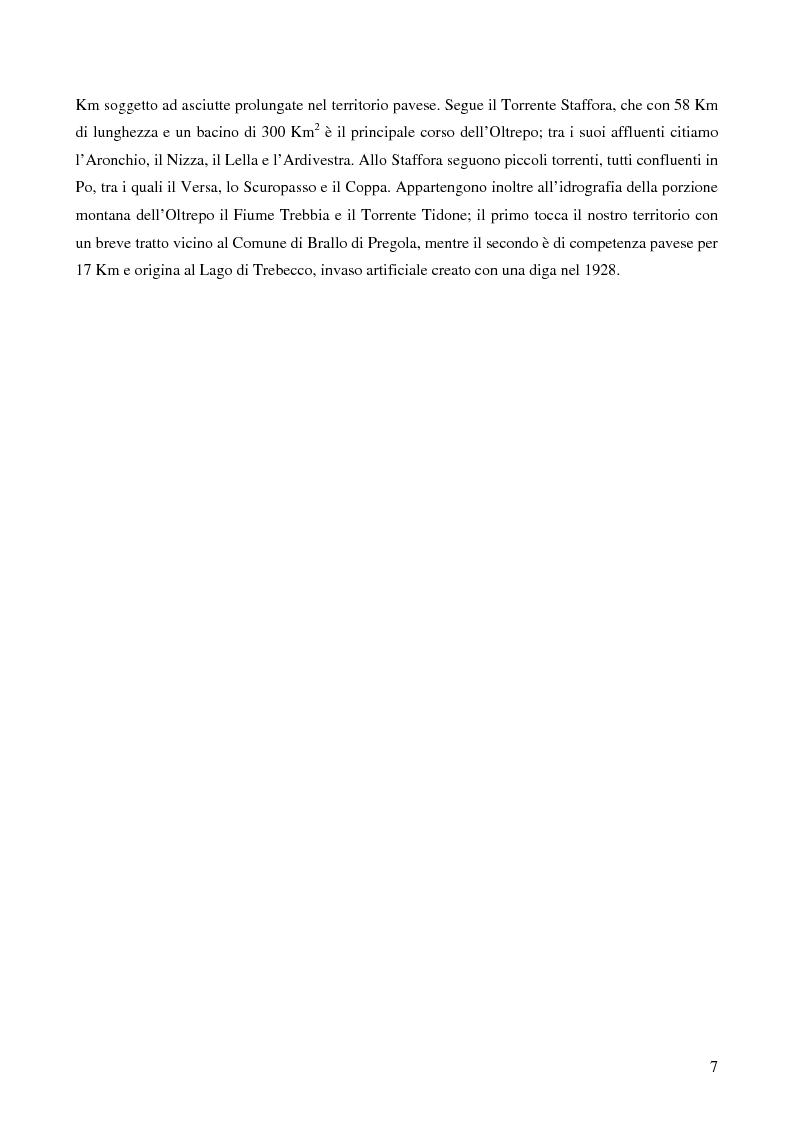 Anteprima della tesi: Ecologia delle comunità ittiche planiziali della provincia di Pavia, Pagina 5