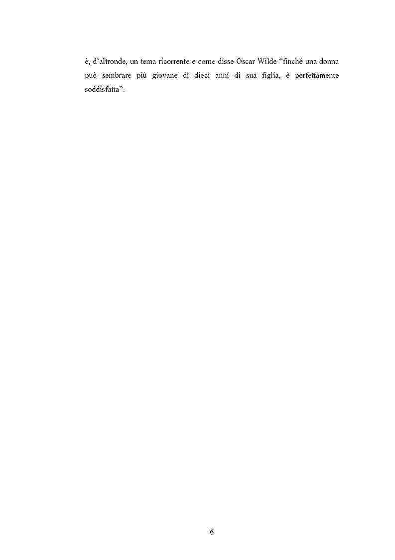 Anteprima della tesi: La rappresentazione della donna nella pubblicità dei cosmetici. Una ricerca di analisi del contenuto., Pagina 3