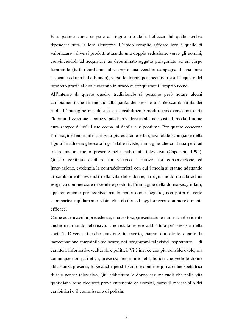 Anteprima della tesi: La rappresentazione della donna nella pubblicità dei cosmetici. Una ricerca di analisi del contenuto., Pagina 5