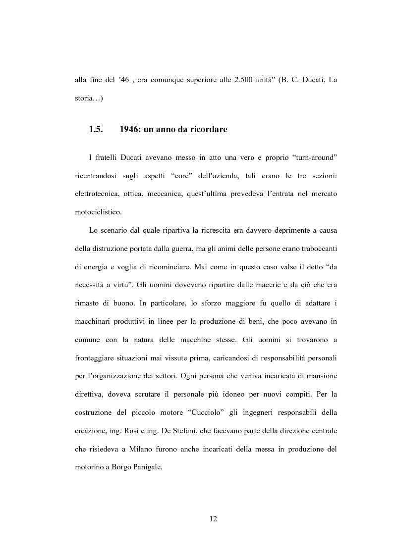 Anteprima della tesi: Il Marketing Tribale in Ducati Motor Holding SpA, Pagina 12