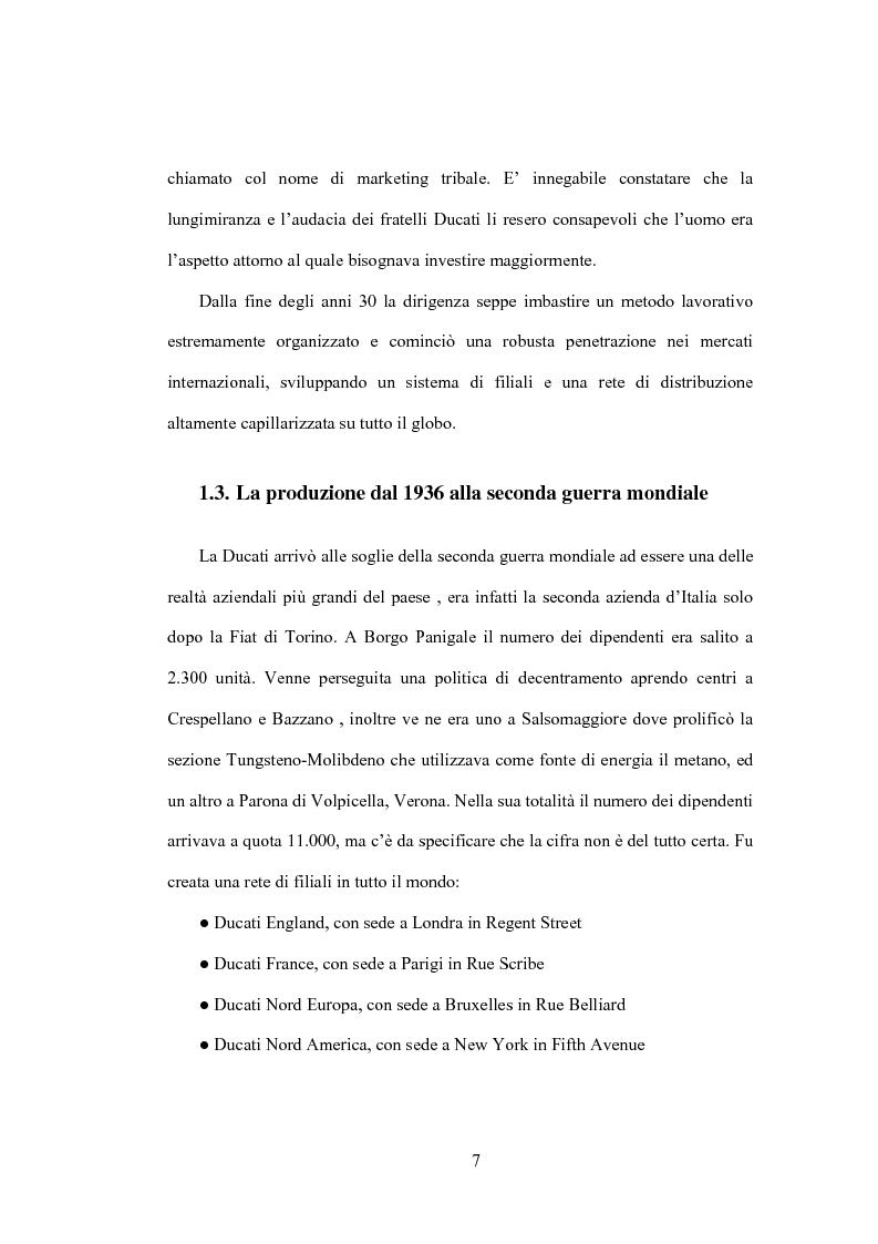 Anteprima della tesi: Il Marketing Tribale in Ducati Motor Holding SpA, Pagina 7