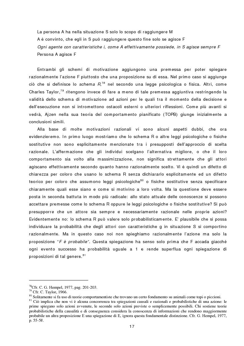 Anteprima della tesi: L'azione sociale ambientalmente corretta: il caso della separazione dei rifiuti a Lipsia ed a Trento, Pagina 15