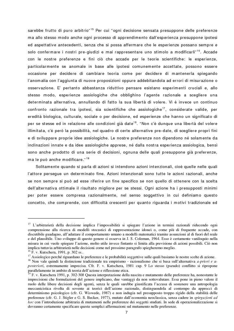 Anteprima della tesi: L'azione sociale ambientalmente corretta: il caso della separazione dei rifiuti a Lipsia ed a Trento, Pagina 5