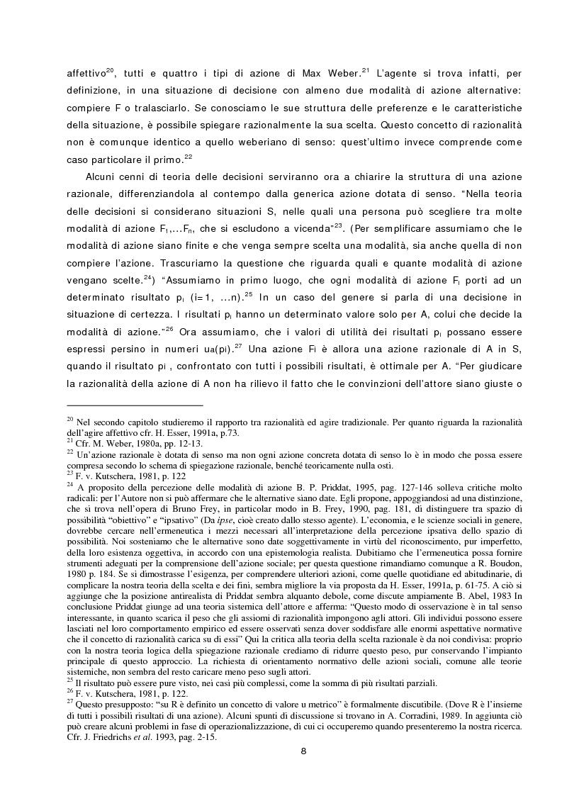 Anteprima della tesi: L'azione sociale ambientalmente corretta: il caso della separazione dei rifiuti a Lipsia ed a Trento, Pagina 6