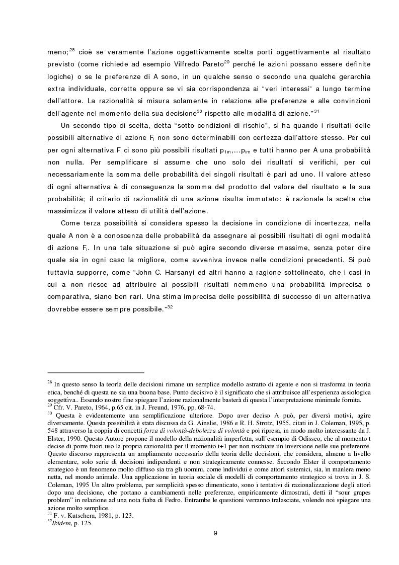 Anteprima della tesi: L'azione sociale ambientalmente corretta: il caso della separazione dei rifiuti a Lipsia ed a Trento, Pagina 7