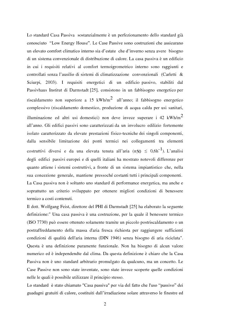 Anteprima della tesi: Confronto tra modelli di valutazione per la stima dell'impatto energetico e macroeconomico dello standard Passivhaus, Pagina 8