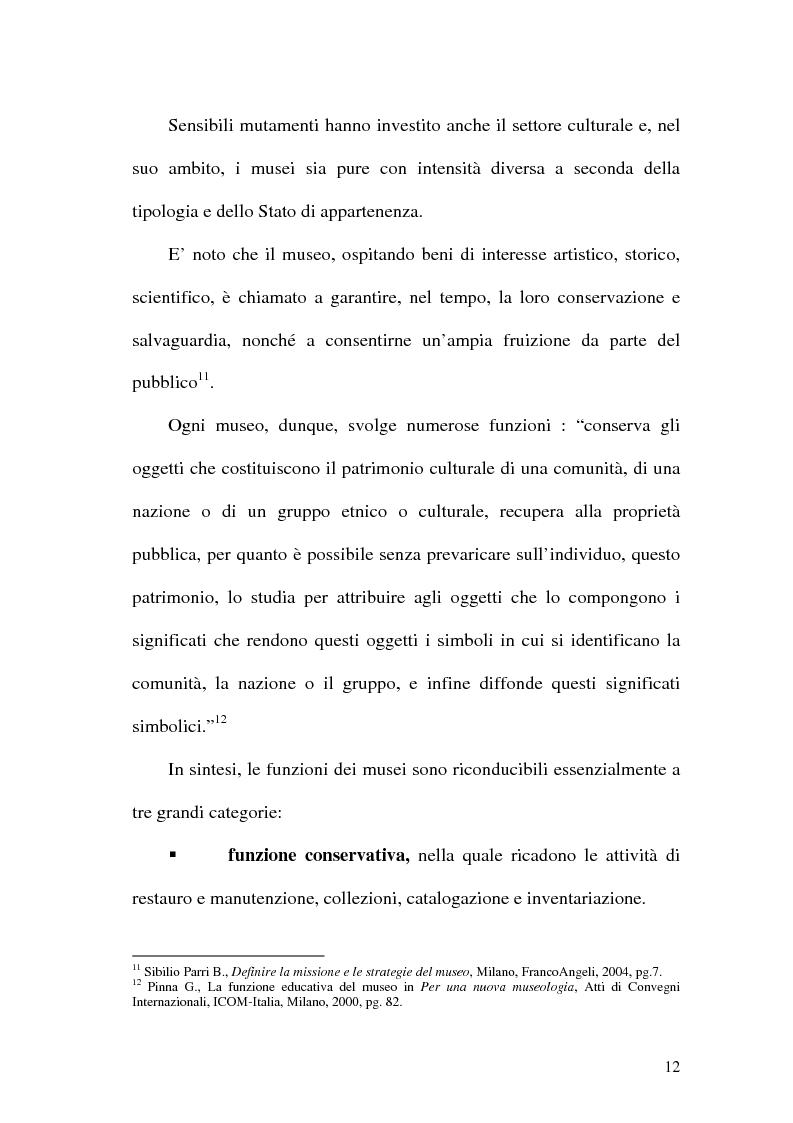 Anteprima della tesi: La rete dei musei virtuali come strumento di sviluppo locale: il caso di Benevento, Pagina 10