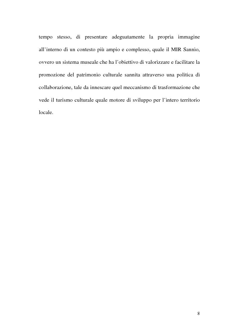 Anteprima della tesi: La rete dei musei virtuali come strumento di sviluppo locale: il caso di Benevento, Pagina 6
