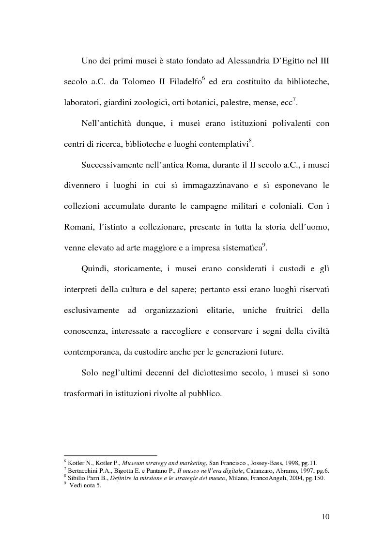 Anteprima della tesi: La rete dei musei virtuali come strumento di sviluppo locale: il caso di Benevento, Pagina 8