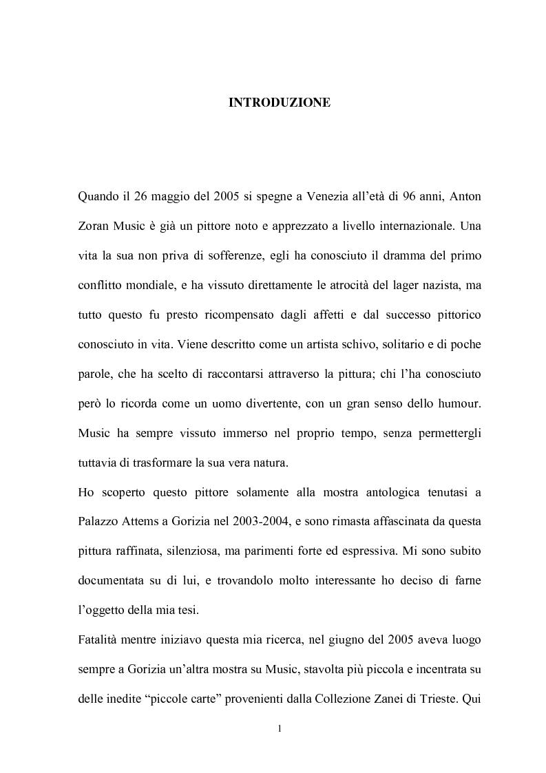 Anteprima della tesi: Music: il decennio''astratto-informale'' 1951-1961, Pagina 1