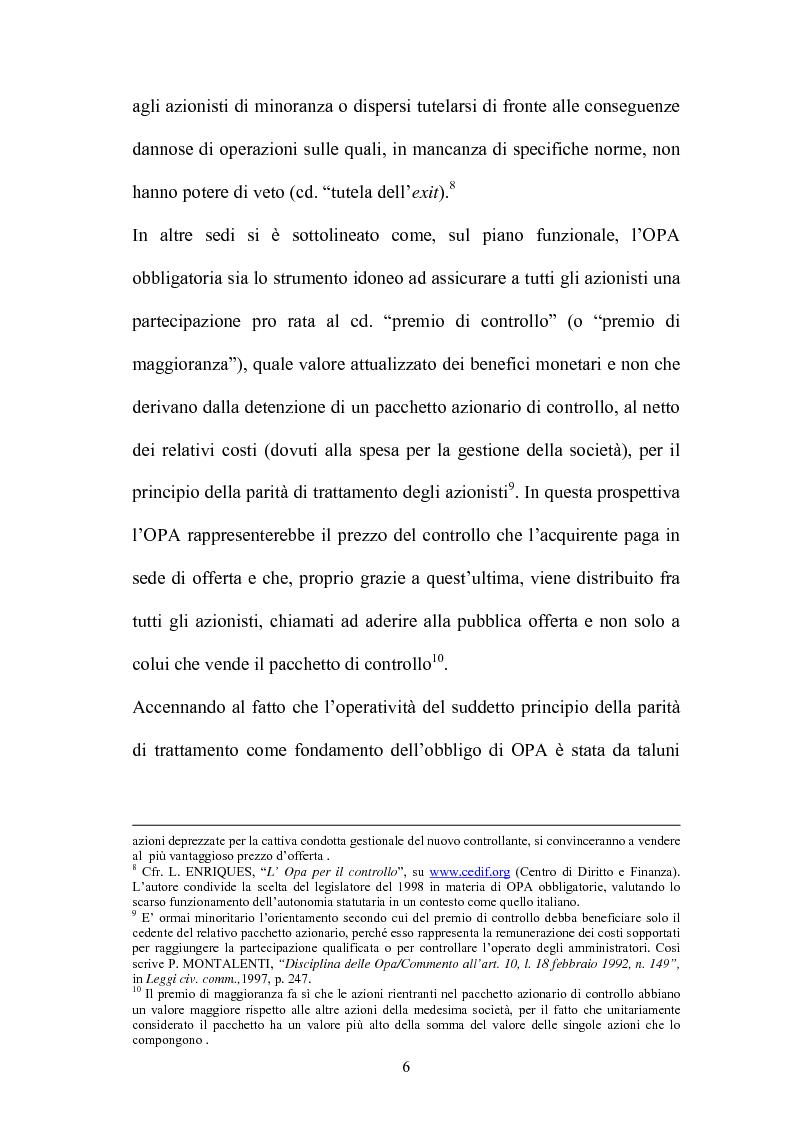Anteprima della tesi: L'Opa di concerto, Pagina 6