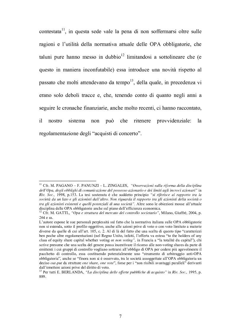 Anteprima della tesi: L'Opa di concerto, Pagina 7