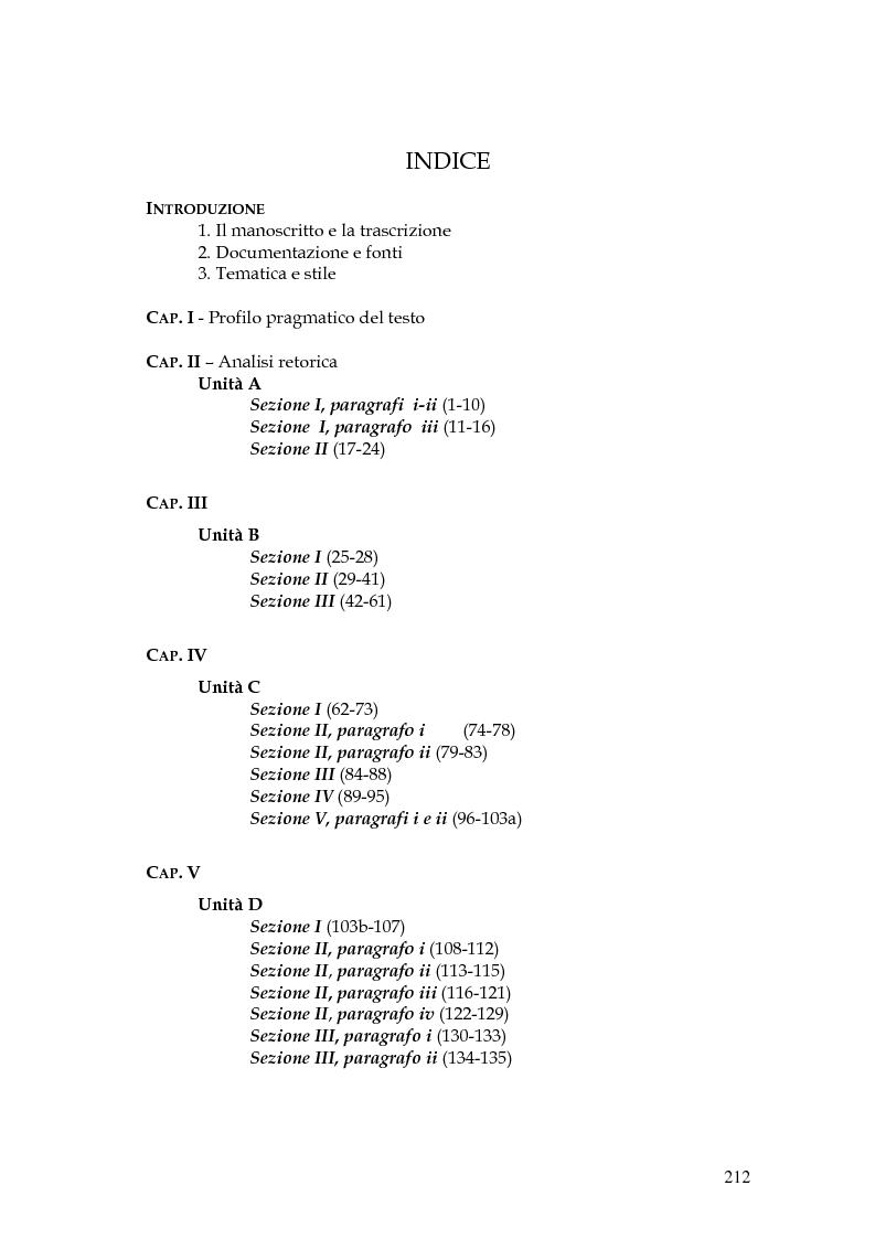 Indice della tesi: The Battle of Maldon: un'indagine retorica, Pagina 1