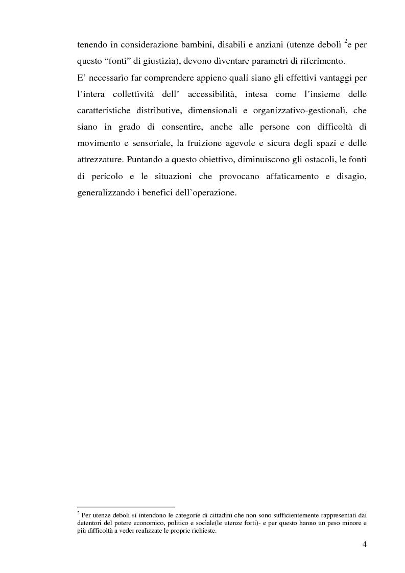 Anteprima della tesi: Strutture turistiche accessibili: l'Orto Botanico del comune di Roma, Pagina 2