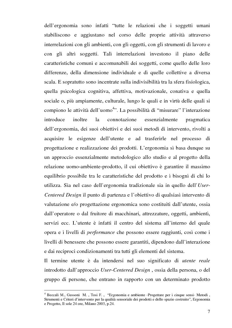Anteprima della tesi: Strutture turistiche accessibili: l'Orto Botanico del comune di Roma, Pagina 5