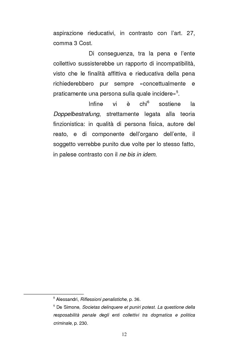 Anteprima della tesi: Le strutture organizzative di cui alla L. 231/2001: un'analisi comparativa, Pagina 7