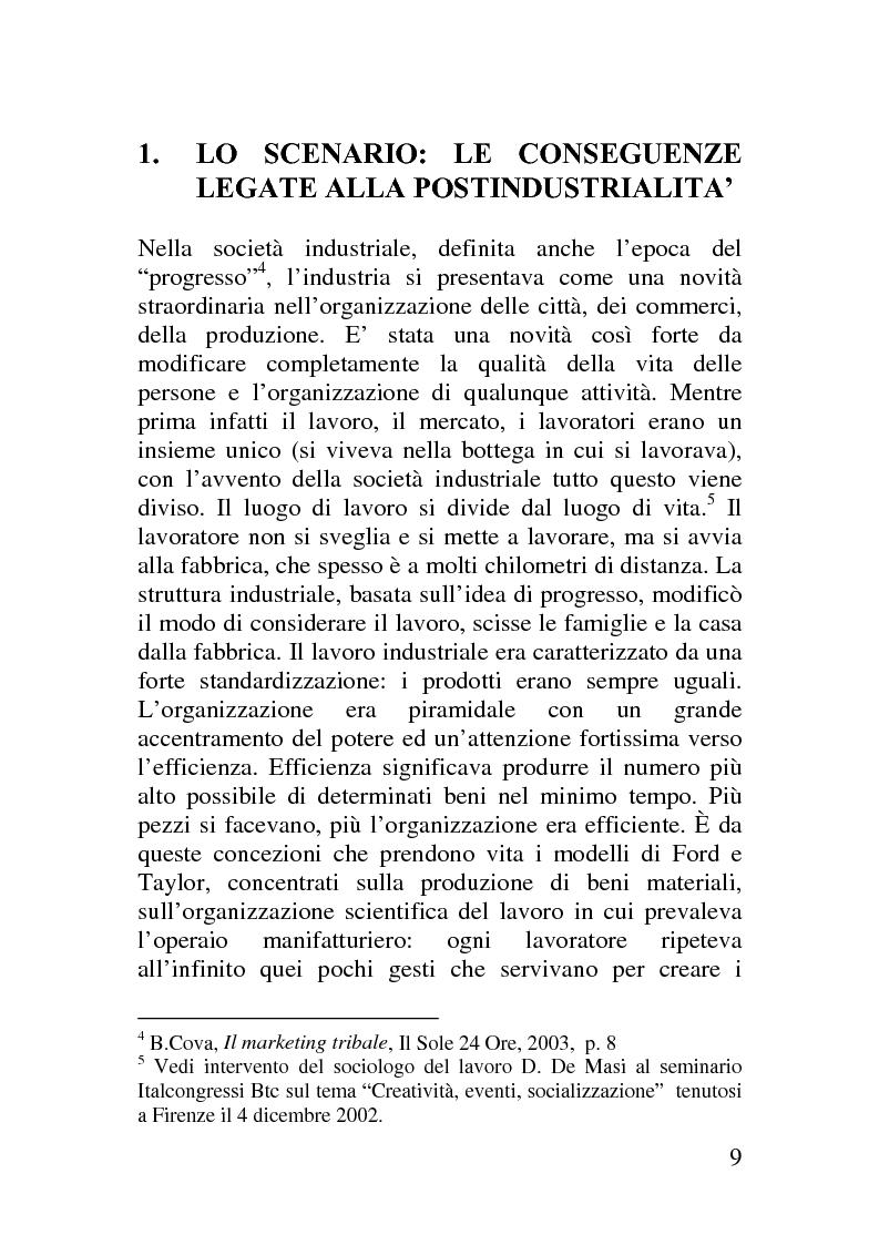 Anteprima della tesi: Il corporate blog - L'utilizzo del blog nella relazione con il cliente, Pagina 4