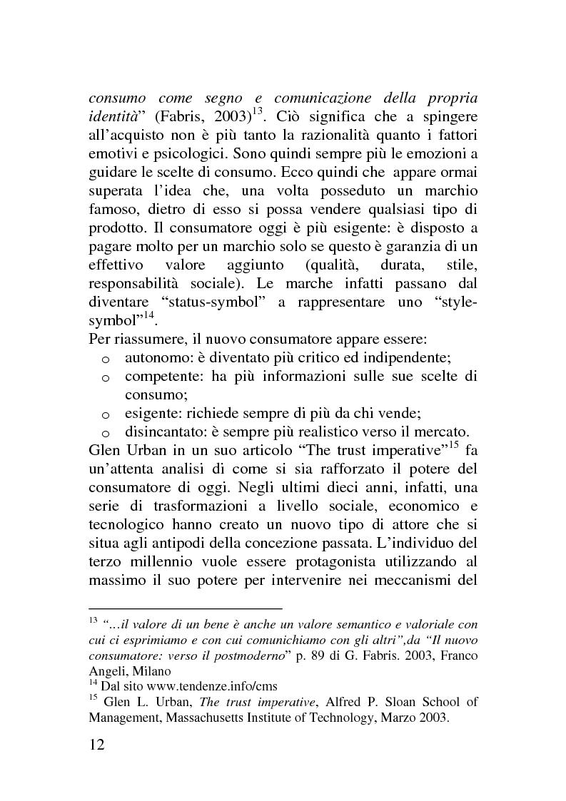 Anteprima della tesi: Il corporate blog - L'utilizzo del blog nella relazione con il cliente, Pagina 7
