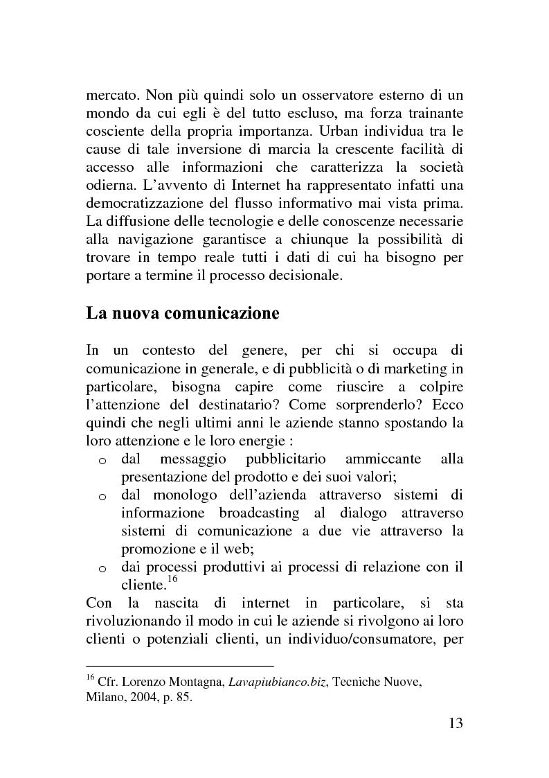 Anteprima della tesi: Il corporate blog - L'utilizzo del blog nella relazione con il cliente, Pagina 8