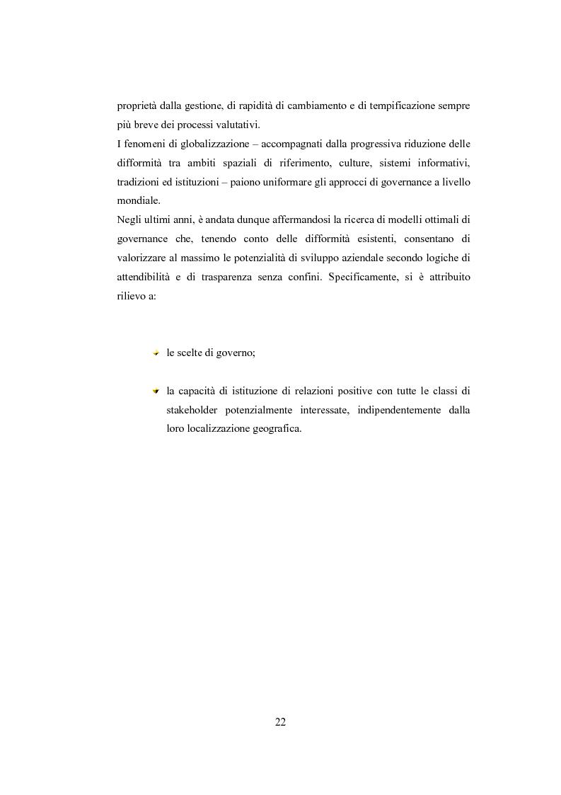 Anteprima della tesi: La comunicazione sulla Corporate Governance: analisi delle relazioni dei principali istituti di credito, Pagina 10