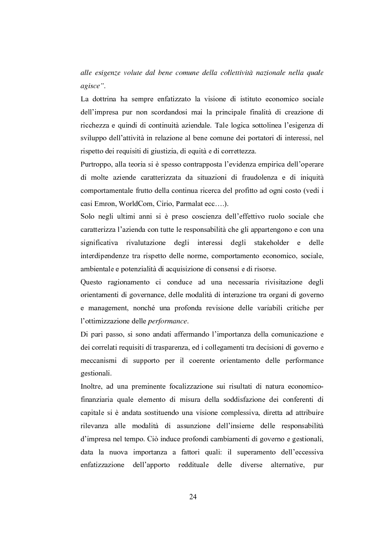 Anteprima della tesi: La comunicazione sulla Corporate Governance: analisi delle relazioni dei principali istituti di credito, Pagina 12
