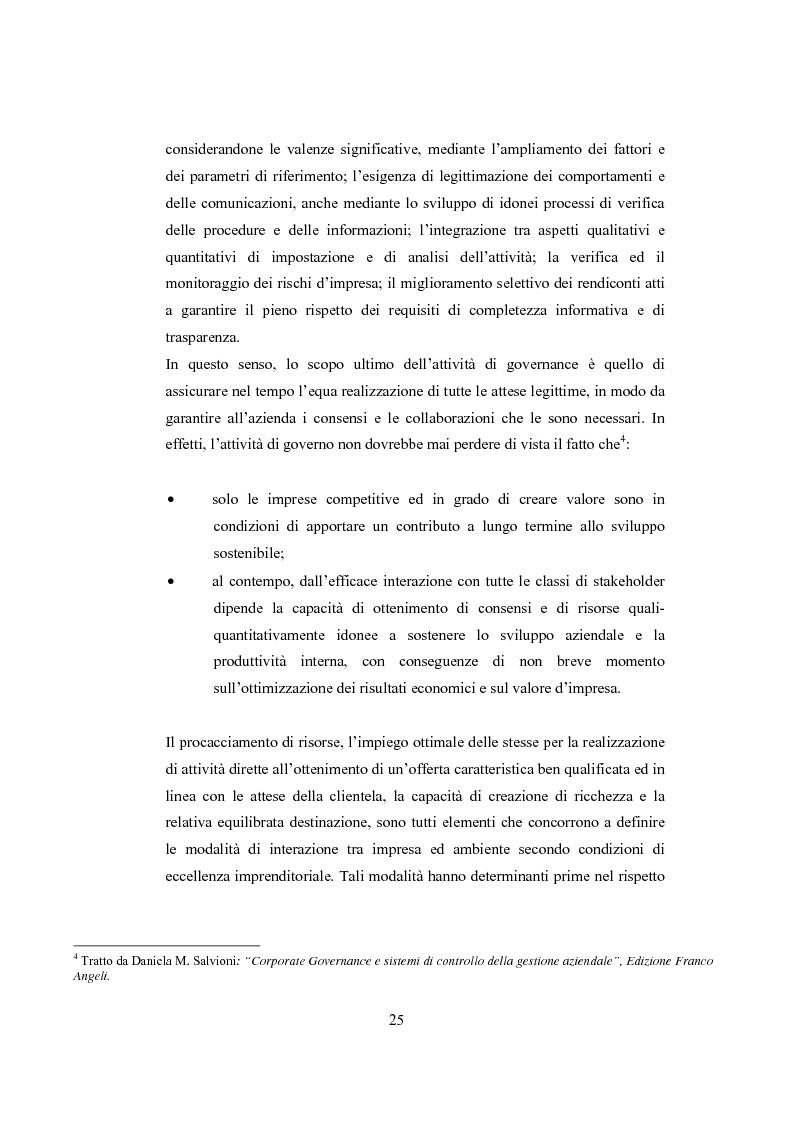 Anteprima della tesi: La comunicazione sulla Corporate Governance: analisi delle relazioni dei principali istituti di credito, Pagina 13