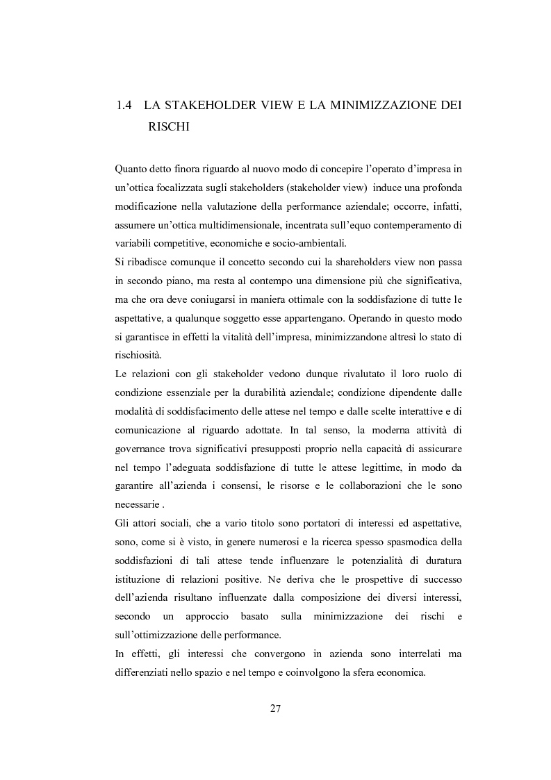 Anteprima della tesi: La comunicazione sulla Corporate Governance: analisi delle relazioni dei principali istituti di credito, Pagina 15