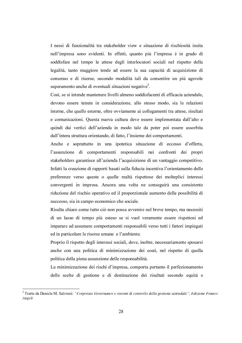 Anteprima della tesi: La comunicazione sulla Corporate Governance: analisi delle relazioni dei principali istituti di credito, Pagina 16