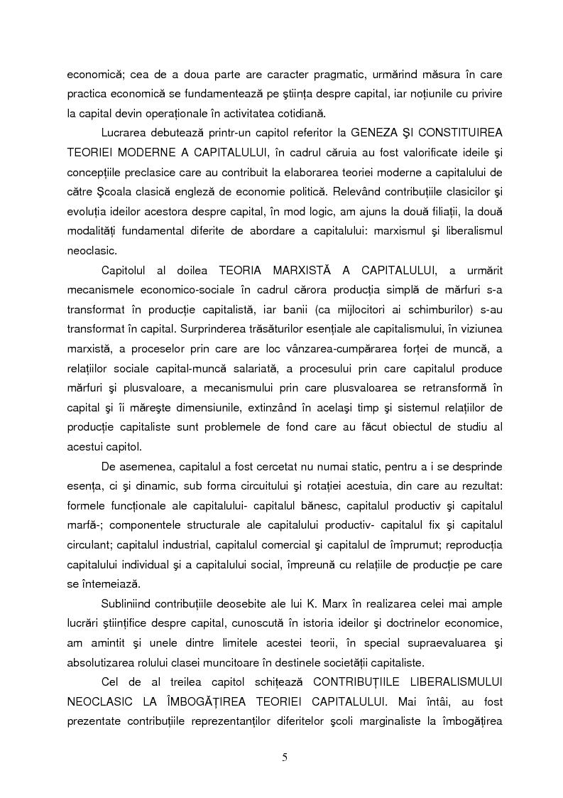 Anteprima della tesi: Capitalul in teoria si pratica economica, Pagina 2