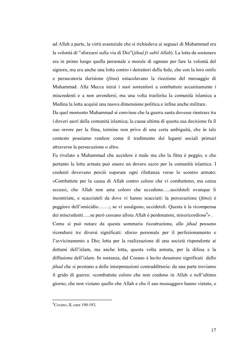 Anteprima della tesi: La Guerra Giusta: teoria e casi pratici, Pagina 12