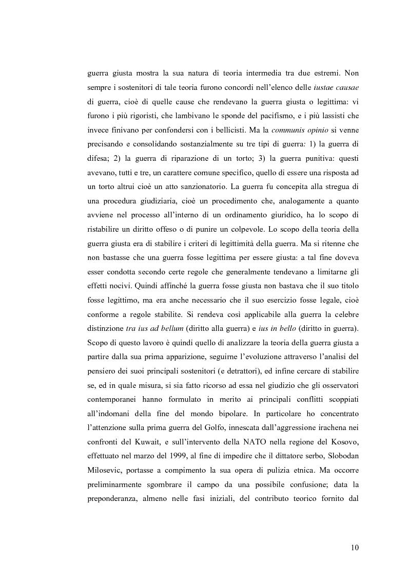 Anteprima della tesi: La Guerra Giusta: teoria e casi pratici, Pagina 5