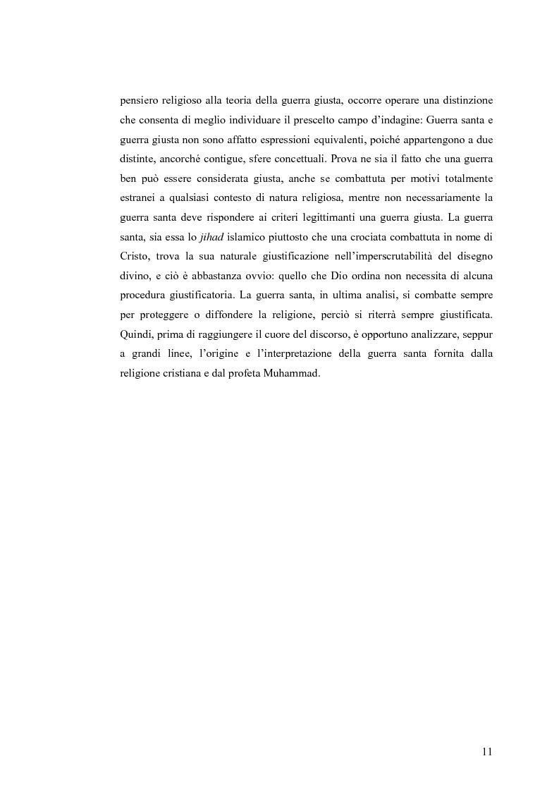 Anteprima della tesi: La Guerra Giusta: teoria e casi pratici, Pagina 6