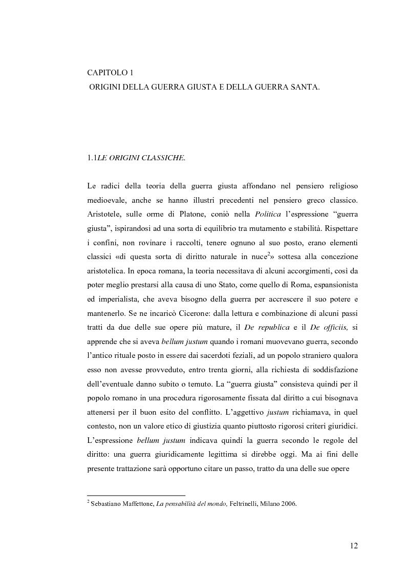 Anteprima della tesi: La Guerra Giusta: teoria e casi pratici, Pagina 7