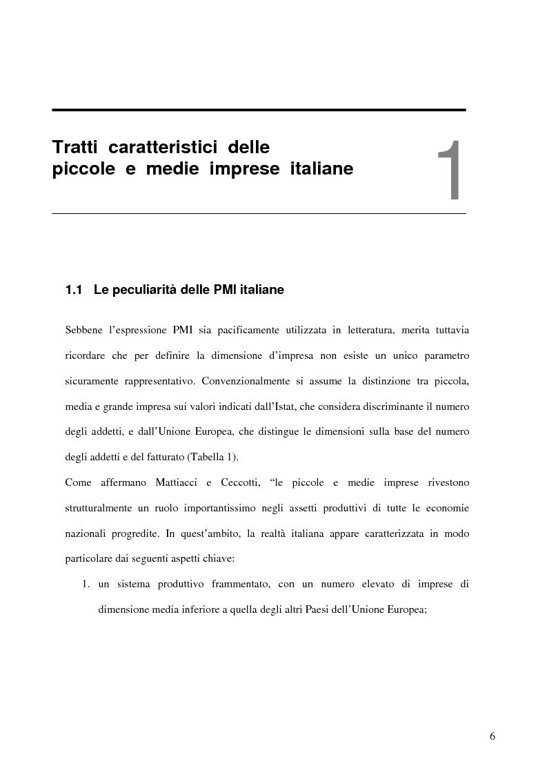 Anteprima della tesi: Aspetti distributivi e pianificazione di marketing nelle Pmi del comparto alimentare: il caso Gessyca Gelati, Pagina 3